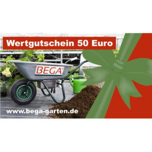 BEGA Gutschein 50,00 Euro