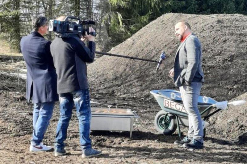 MDR um 4 berichtet über BEGA Innovation: Der Solardämpfer kommt!